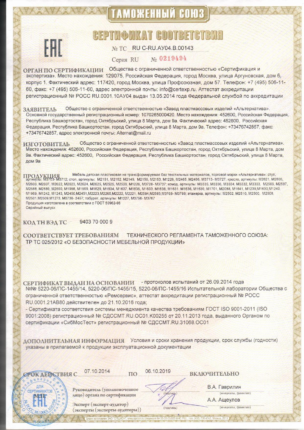 Сертификация пластмассы обязательная сертификация в украине для вузов